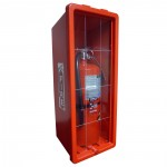 Fire Extinguisher & Cabinet