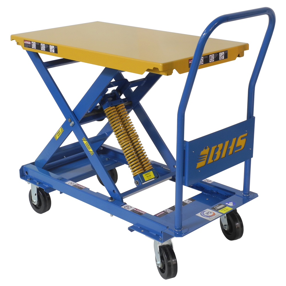 Self-Leveling Mobile Lift Tables