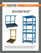 GPL-2000 Battery Roller Stands