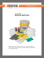 GPL-3000 Battery Spill Kits