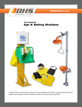 GPL-3100 Eye & Safety Stations