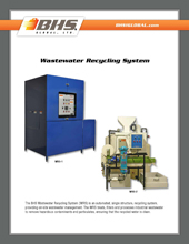 GPL-4200 Wastewater Recycling System