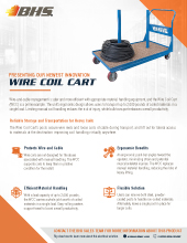 PL-7700 Wire Coil Cart