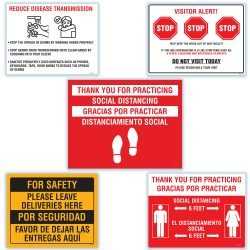 Social Distancing Sticker Kits (SDSK)